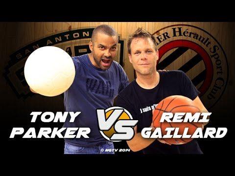 Rémi Gaillard desafia o jogador da NBA Tony Parker