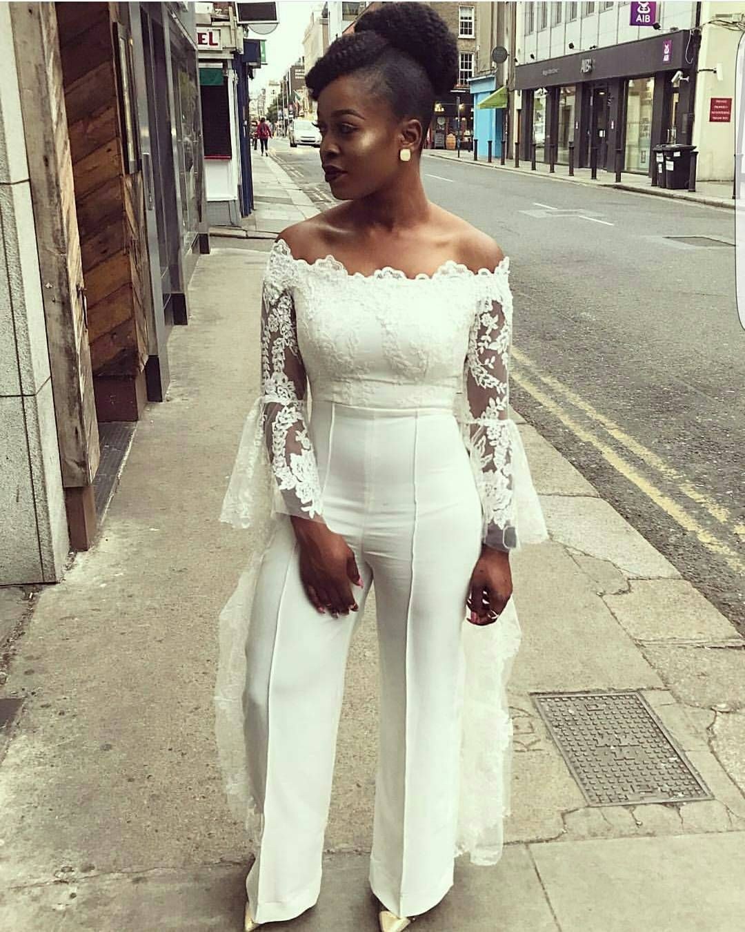 Serving Brides Some Wedding Reception Outfits Jumpsuits