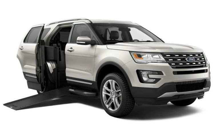 Braunability Mxv A Ford Explorer Wheelchair Suv Articles