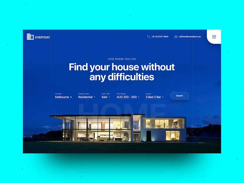 Real Estate Property Management Landing Page Real Estate Landing Pages Property Management Real Estate Website Design