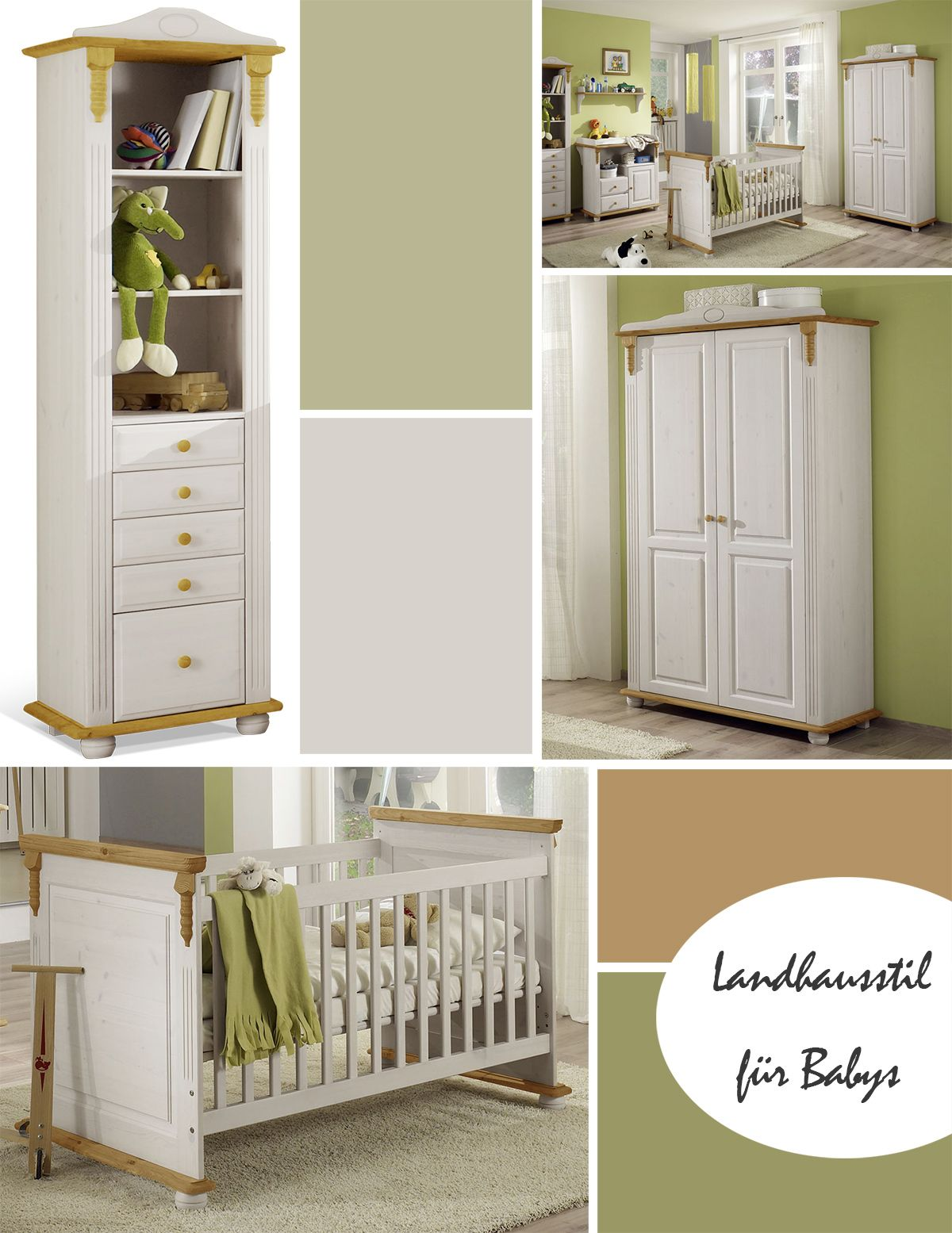 Kinderzimmer Landhausstil Weiss Pin By Betten De On Babyzimmer In 2019 Rustic Baby Rooms Rustic