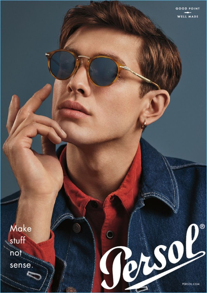 Mens Persol PointWell Made Good Launches CampaignZkin SMVzUpq
