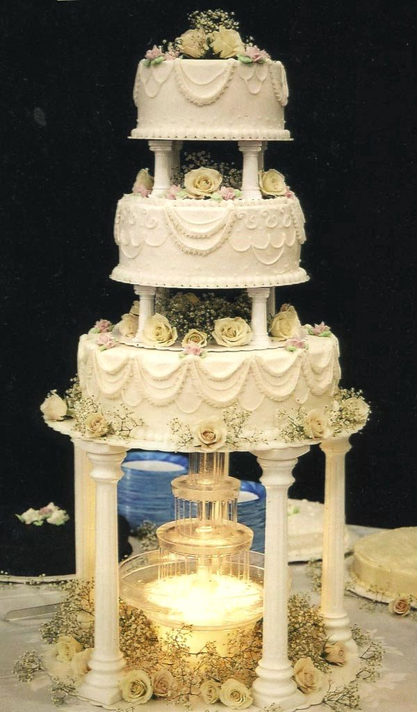 pastel de bodas | Fountain Wedding Cakes | Pinterest | Cake, Wedding ...