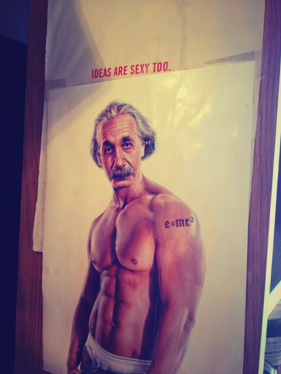 Einstein, if #Fitocracy had existed during his time.