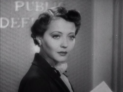 Sylvia Sidney - You Only Live Once 1937