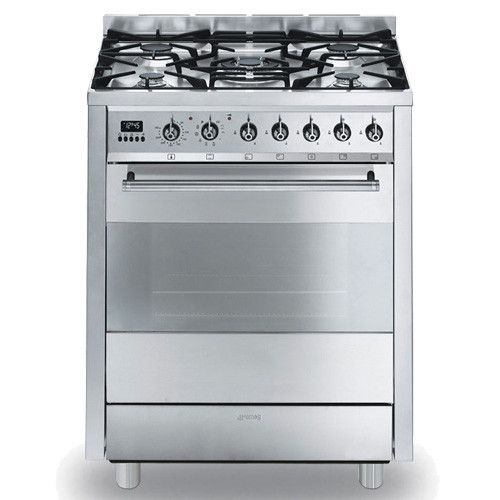 Graded Smeg C7GPX8 70cm St/Steel Pyrolitic Range Cooker (JUB-9845 ...