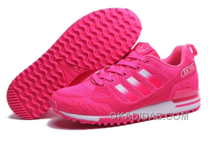 new product ae575 af86f ... hot buy womens peachpuff silver adidas originals zx 750 flyknit shoes  for sale top deals from
