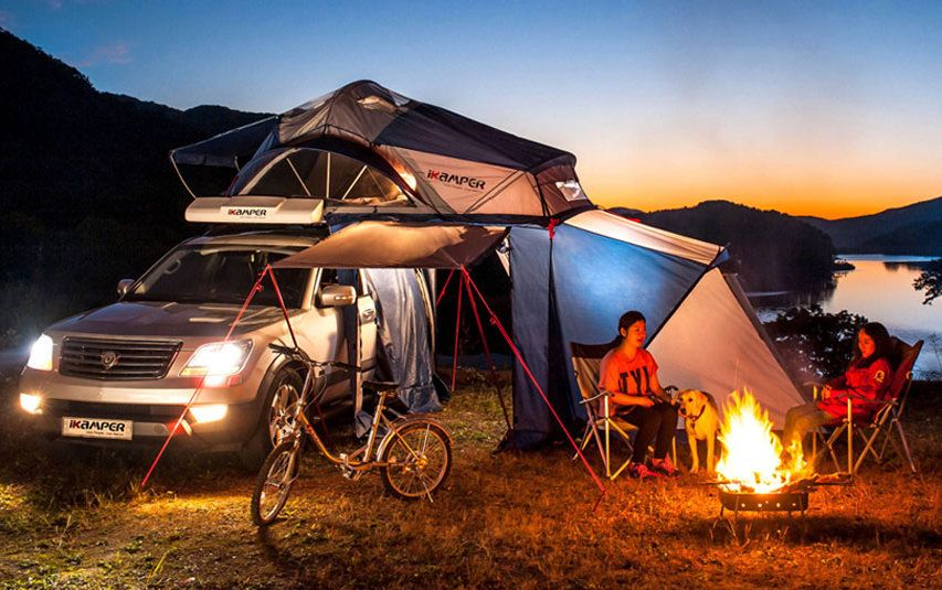 road trip, roof topt tent, roof tent, car tent, vehicle