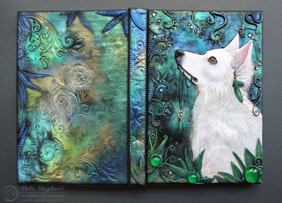 The White Shepherd - Journal by Mandarin Duck http://www.mandarin-duck.com/p/blog-page_18.html Polymer Clay