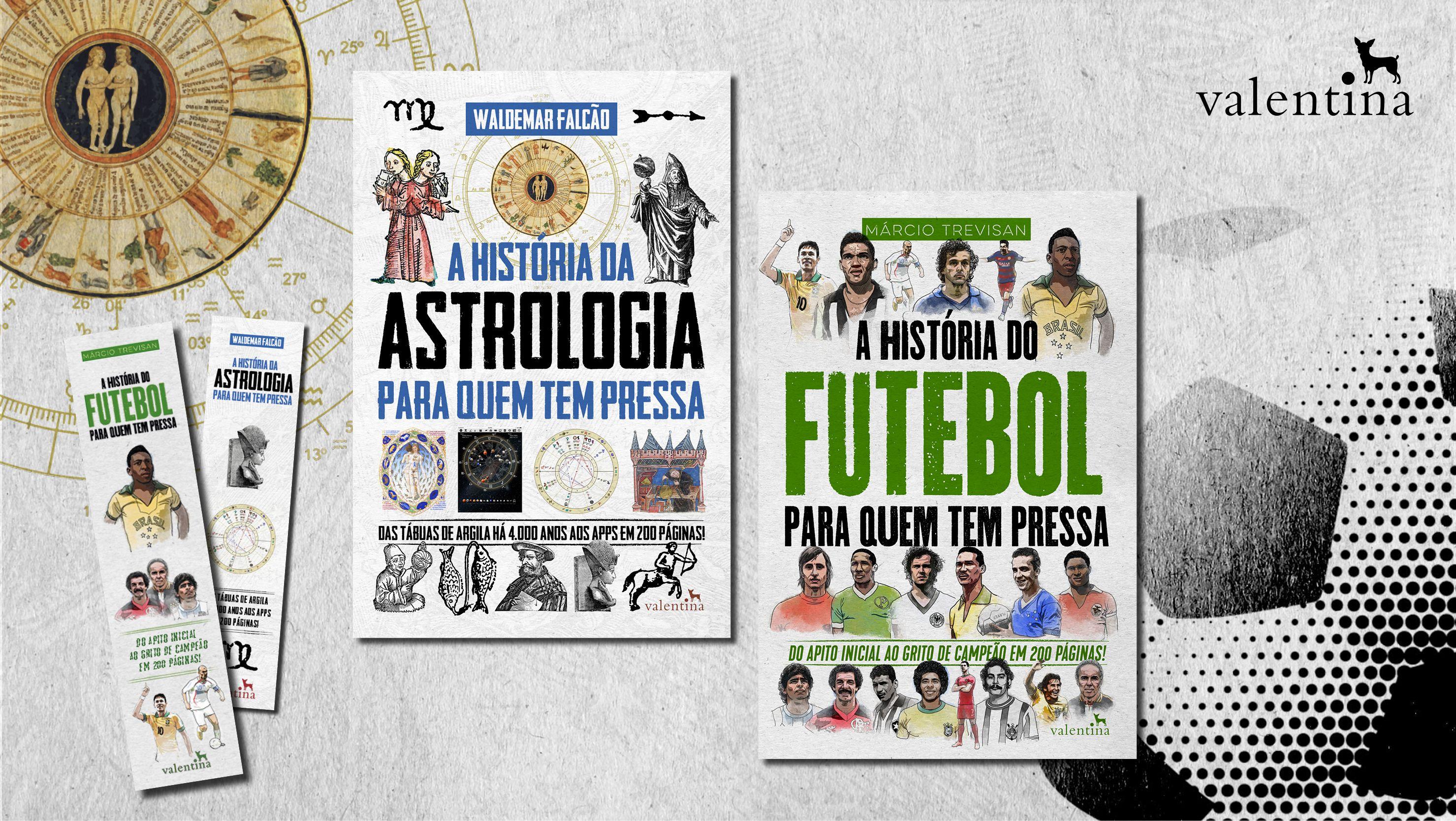 A Nossa Colecao Ganhara Mais 2 Livros A Historia Da Astrologia