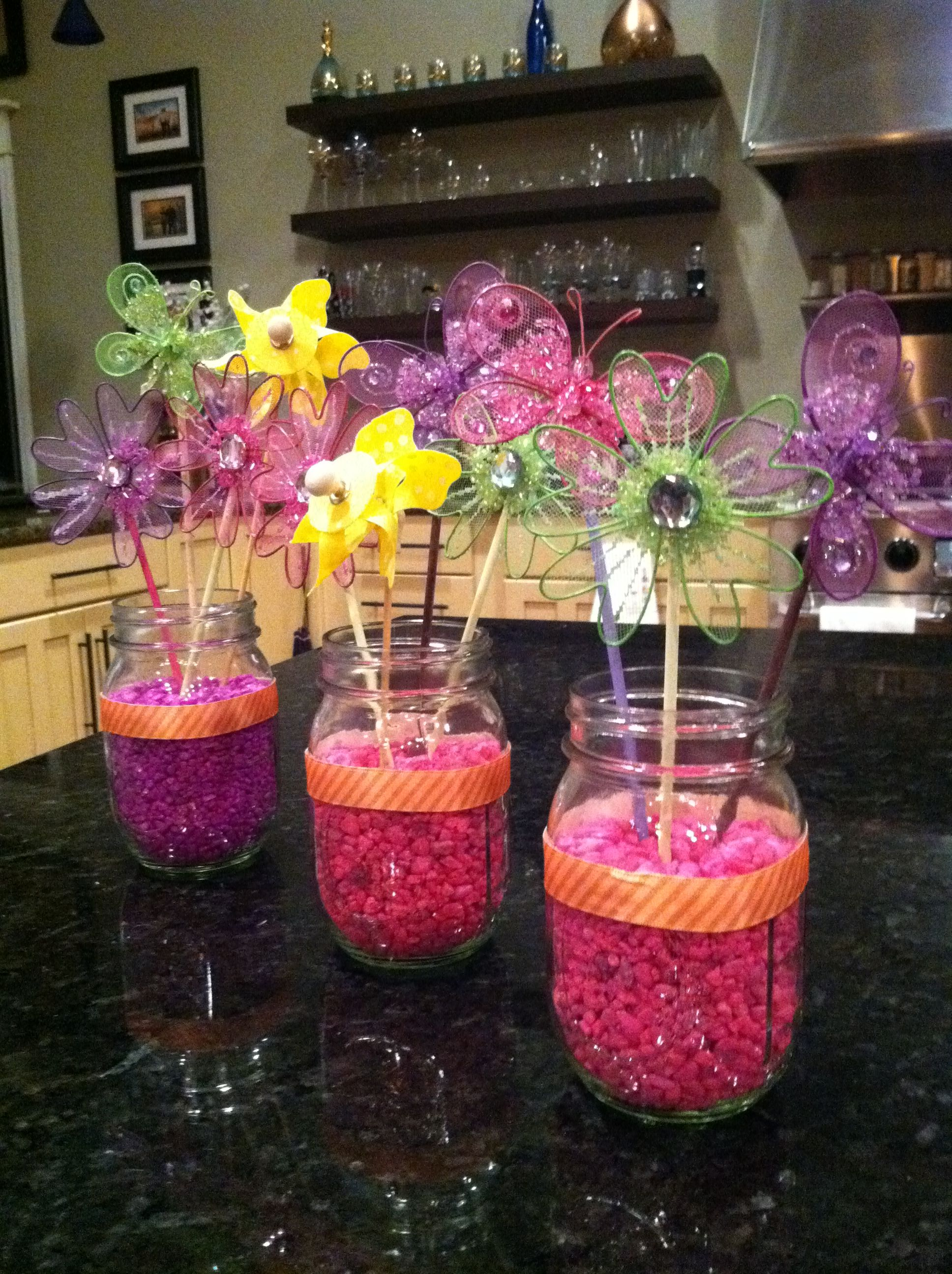 jar centerpieces baby shower centerpieces centerpiece ideas mason jars