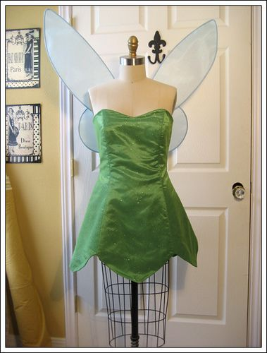 how to make a tinkerbell costume for baby