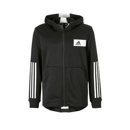 Freelift sportvest zwart Adidas, Adidas originals en Blauw