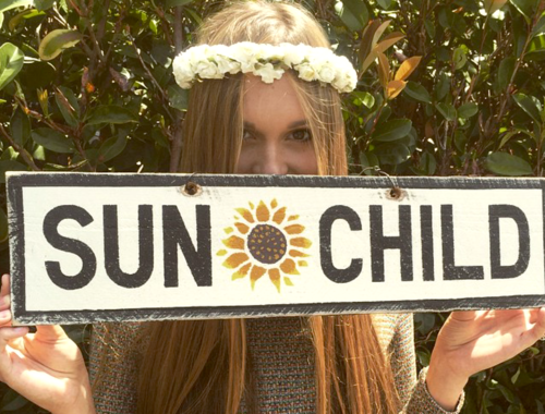 SUN CHILD with Sunflower (Large)