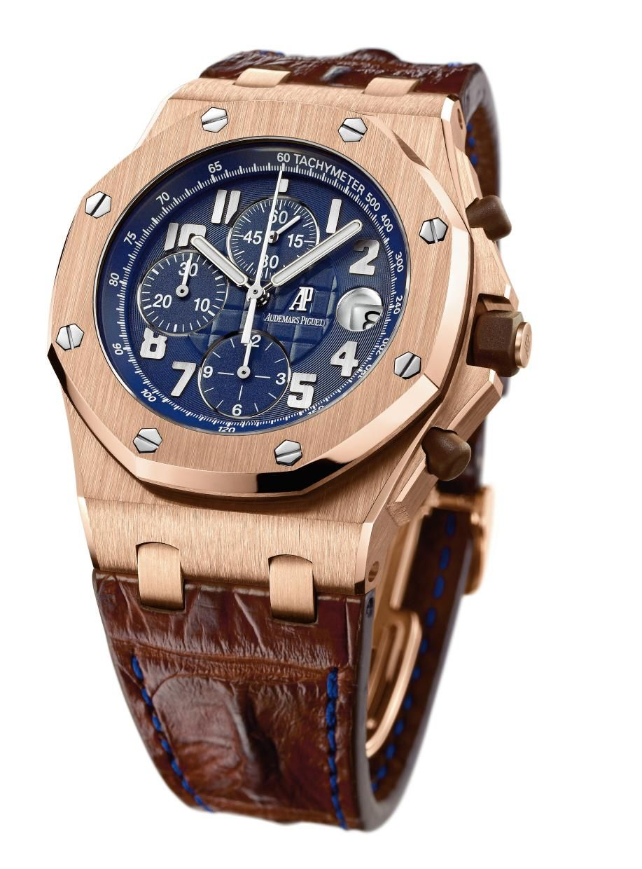 Audemars Piguet Royal Oak Offshore Chronograph Rose Gold Mens Watch
