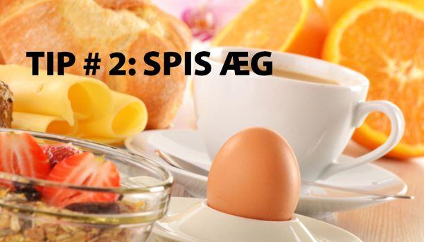 slankekur med æg