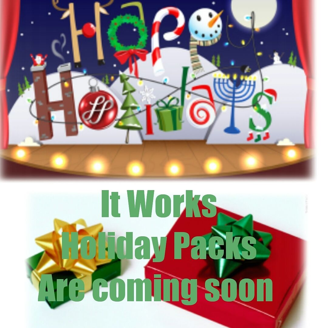 Coming soon this Holiday Season Holiday packing, Holiday