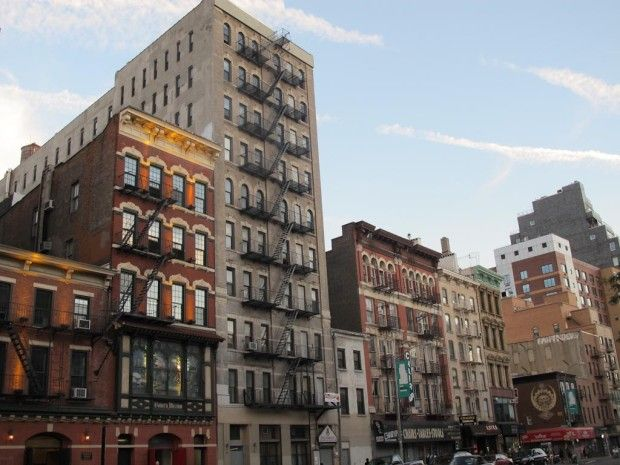 223-225 Bowery. The building housed the organization for 101 years ...