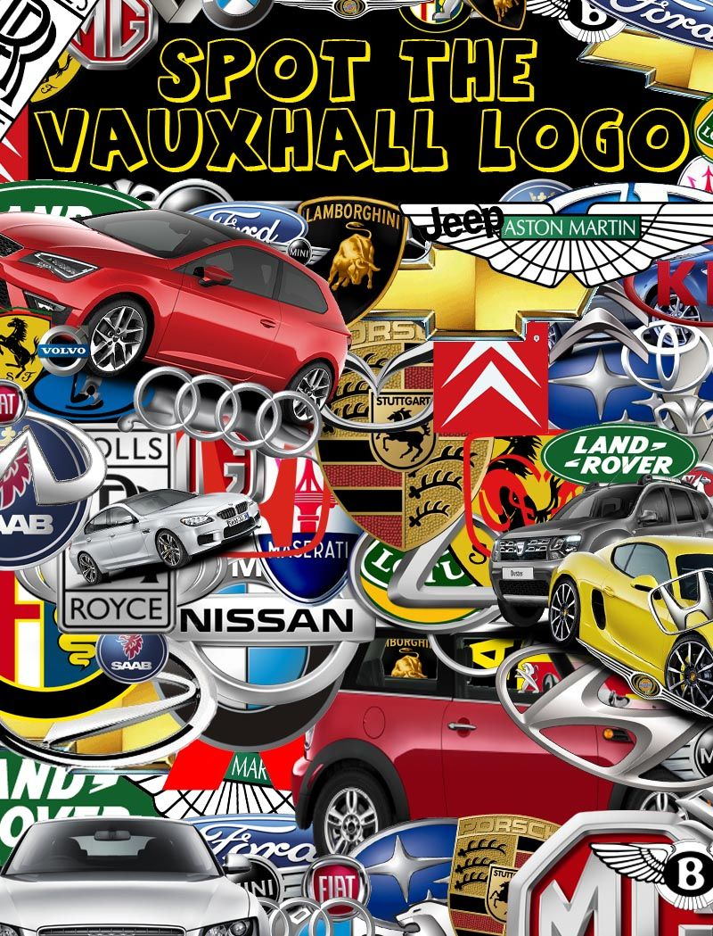 Can you spot the Vauxhall Logo?