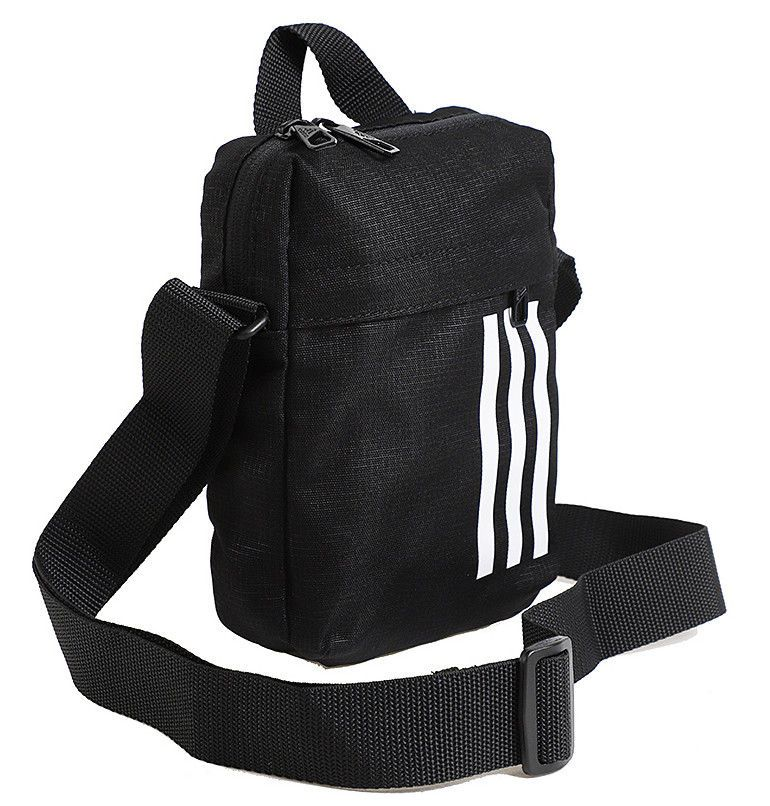 06f71cb235 adidas 3 Stripes Organizer Bag Medium Belt Sport Gym Yoga Black Sports  CG1537  adidas  MessengerShoulderBag