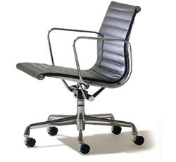 Love this chair...Eames aluminum Management Chair. I think this is Don Draper's chair.