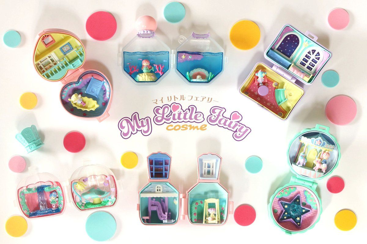 Re-ment My Little Fairy, I need this collection, it looks so similar to Polly Pockets, very much need this just for a feel of 90s nostalgia of my childhood.