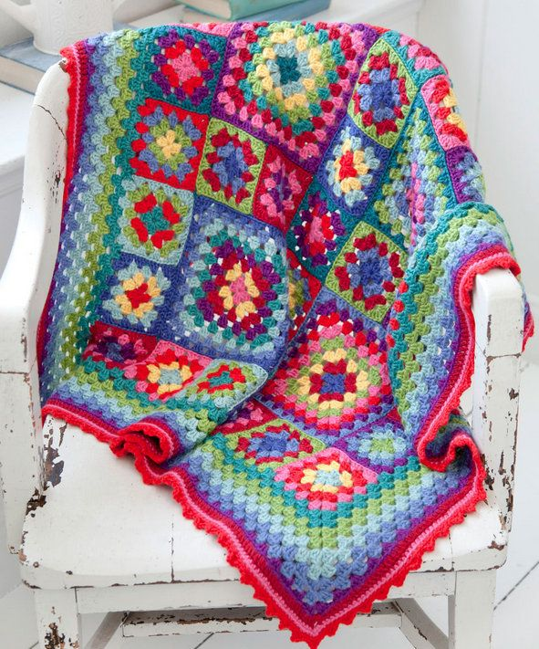 Free crochet pattern - Blanket Statement by Lucy O\'Regan in Stitch ...