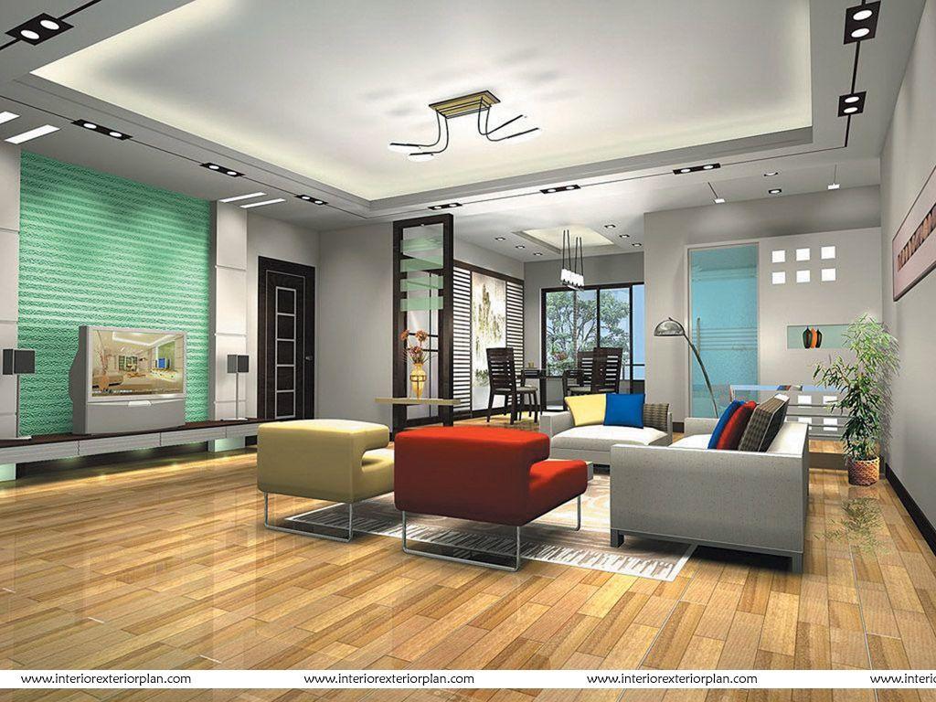 interior exterior plan contemporary living room design aruns house ...