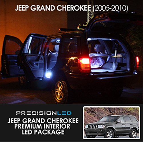 Led Interior Lighting Package For Jeep Grand Cherokee Wk In 2020 Jeep Grand Cherokee Jeep Grand Jeep
