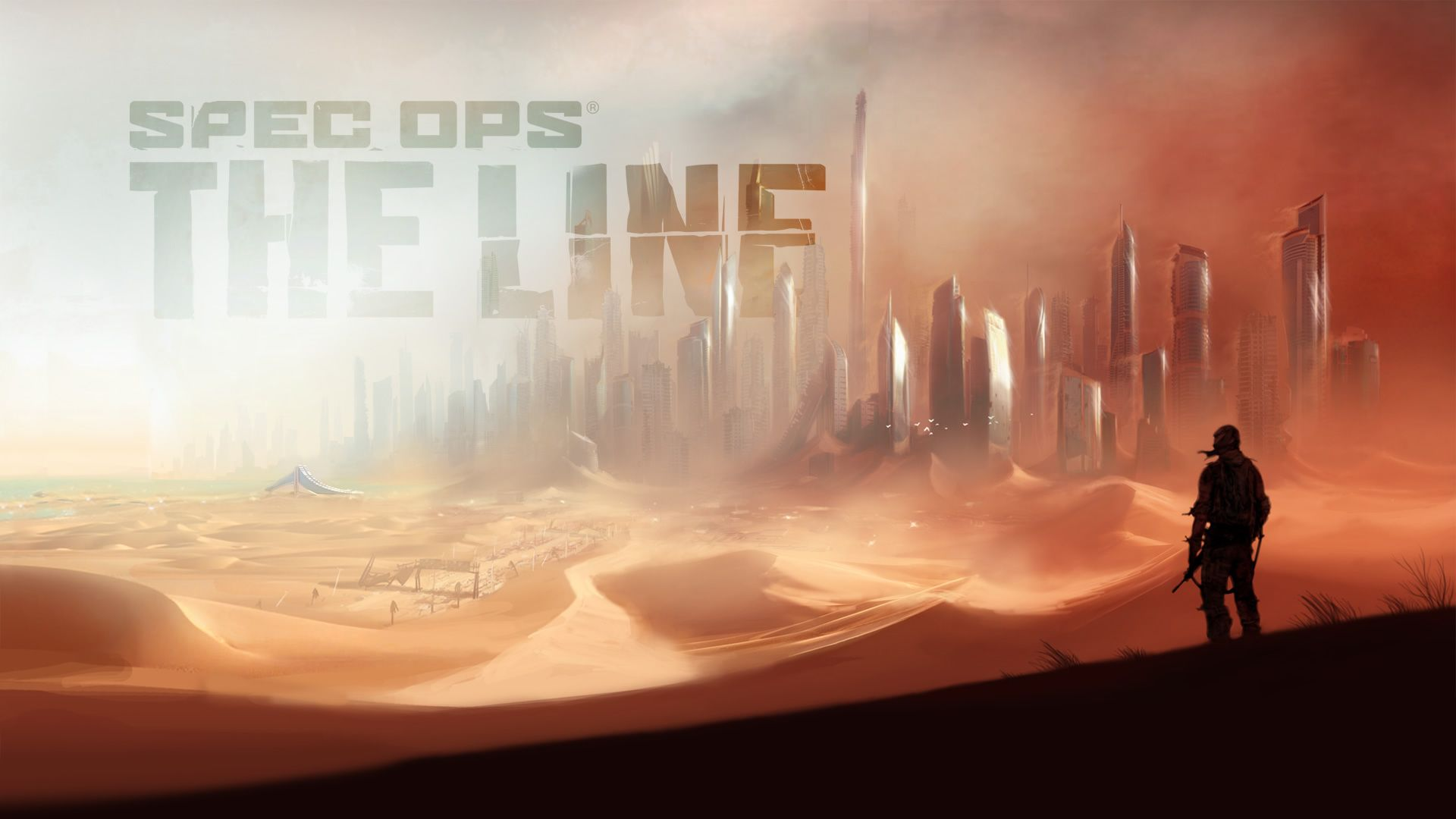 Spec Ops The Line Wallpaper 2 With Images Spec Ops The Line