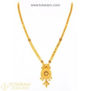 22K Gold Necklaces for Women Indian Gold Jewelry from Totaram