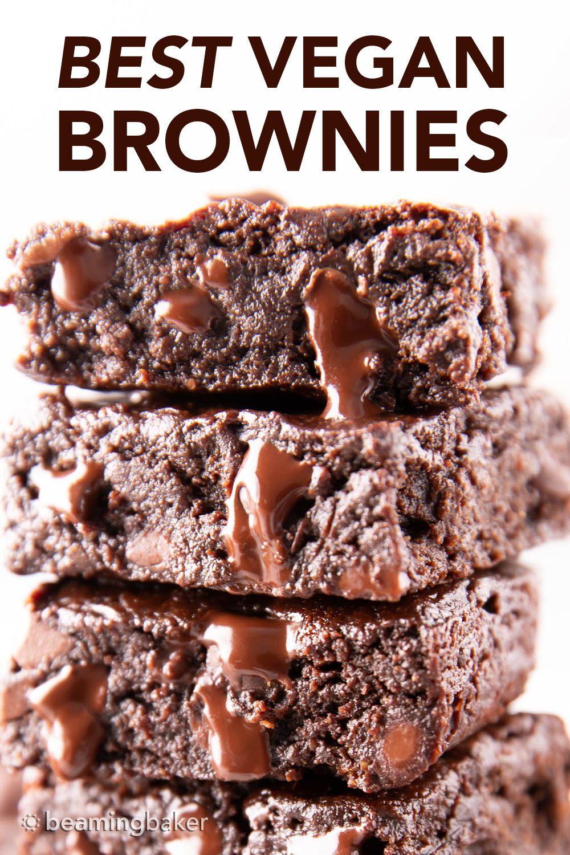 Best Vegan Brownies Recipe Easy N Moist In 2020 Best Vegan Brownies Vegan Brownie Recipe Easy Vegan Brownie