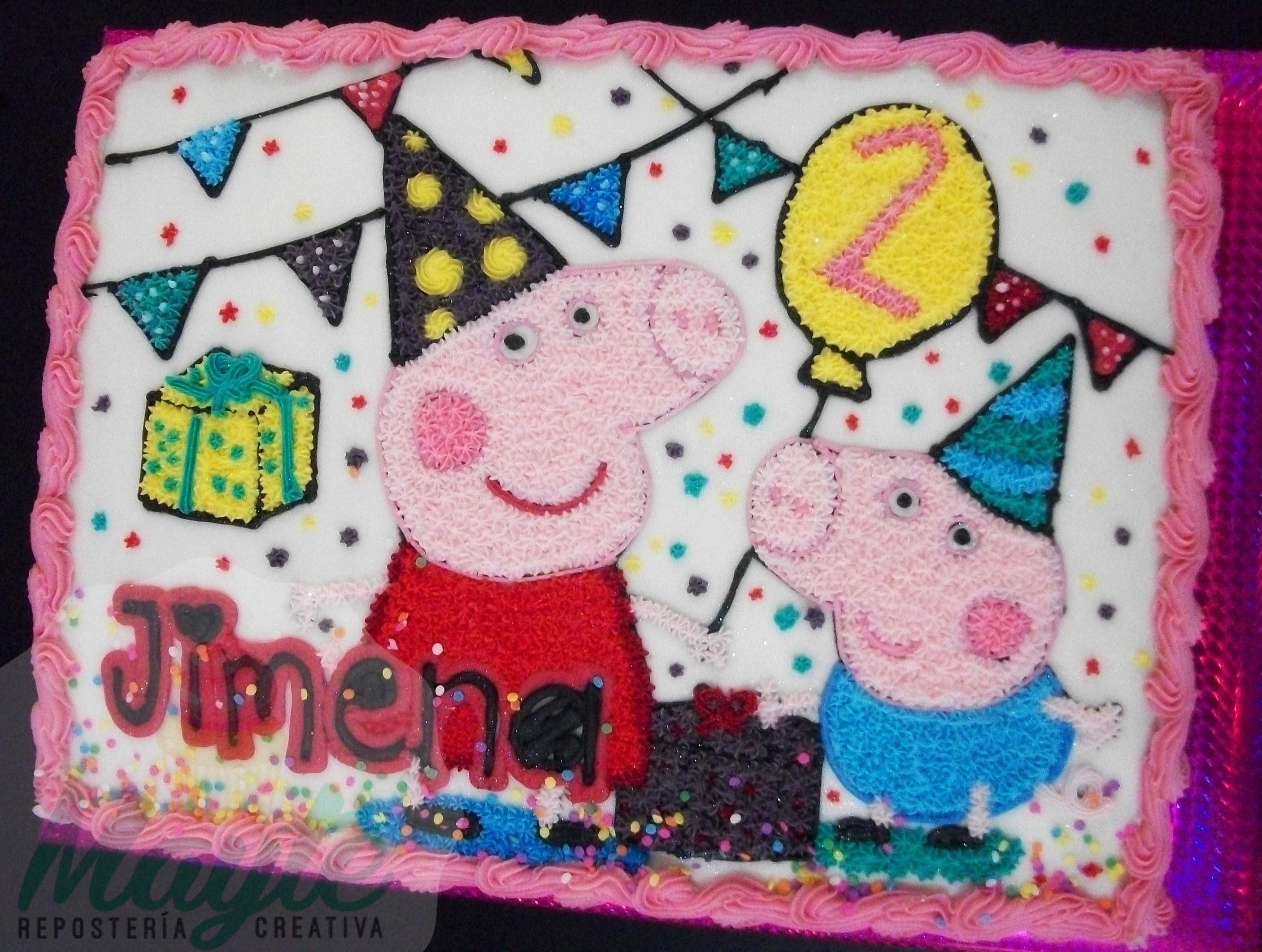 Pin de Cereza en Peppa Pig Cakes / Pasteles de Peppa Pig | Pinterest ...