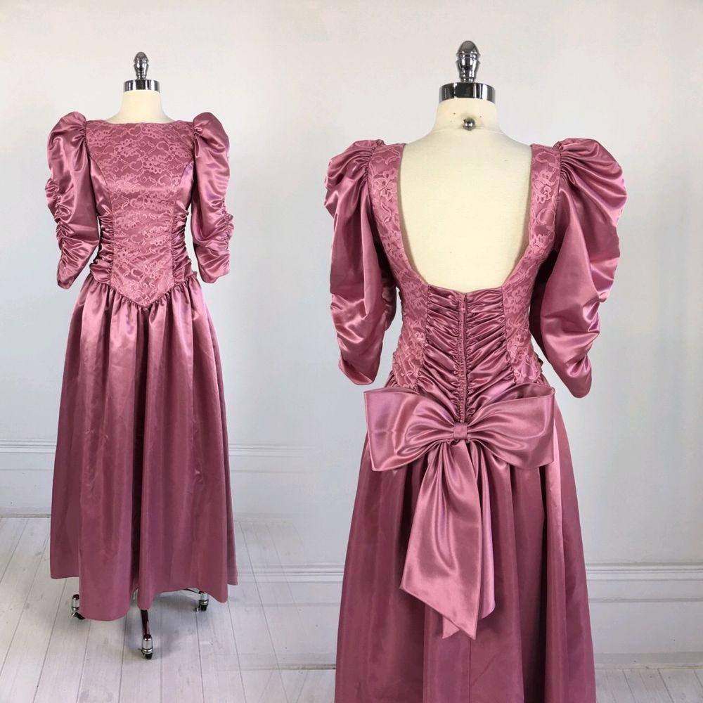 Increíble Ebay Vestidos De Boda De La Vendimia Composición ...