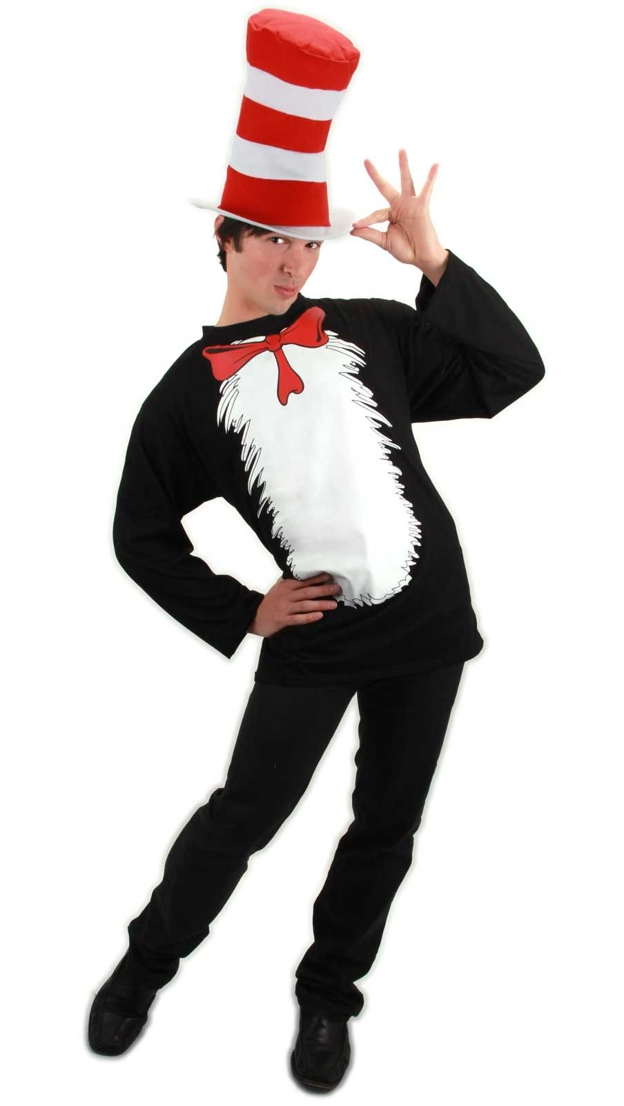 Cat In The Hat Costume Halloween Ideas Halloween Costumes