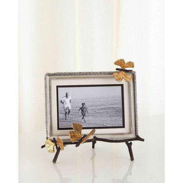 Michael Aram Butterfly Ginkgo Easel Frame (540 BRL) ❤ liked on ...