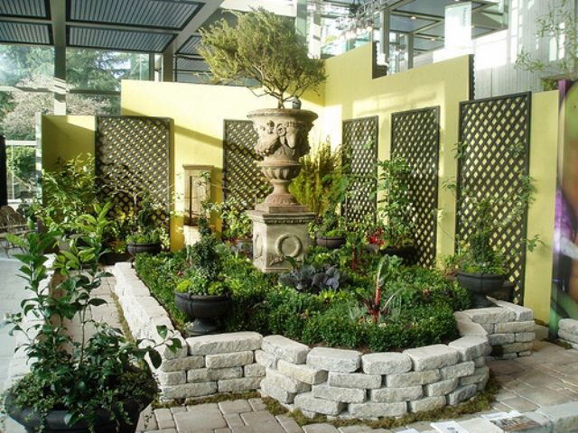 Easy Small Space Landscaping Simple Home Garden In A Simple Home