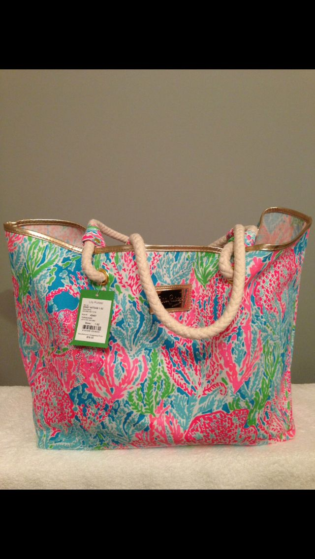 Lilly Pulitzer Sline Tote In Let S Cha