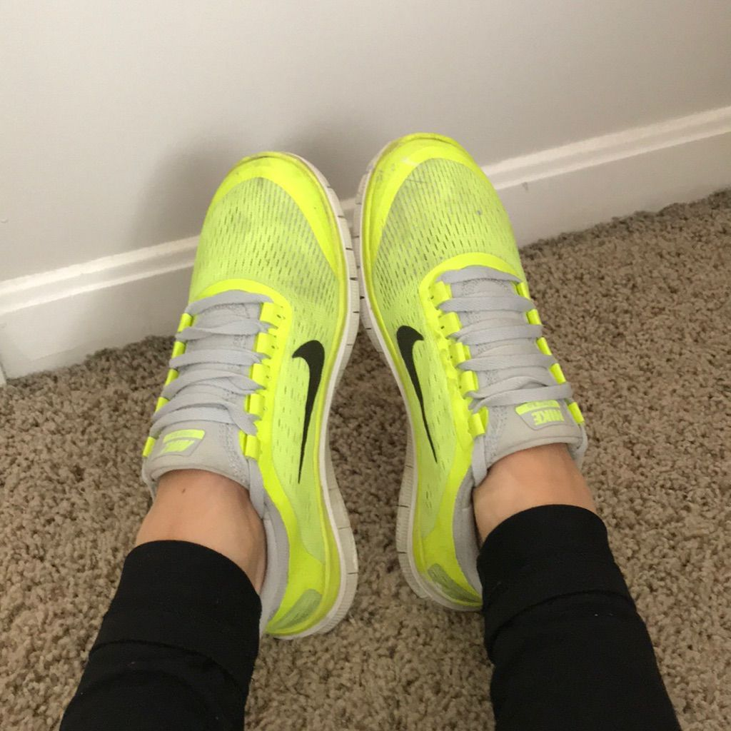 Neon Yellow Nike Shoes Being Made Neon Yellow Nike Shoes