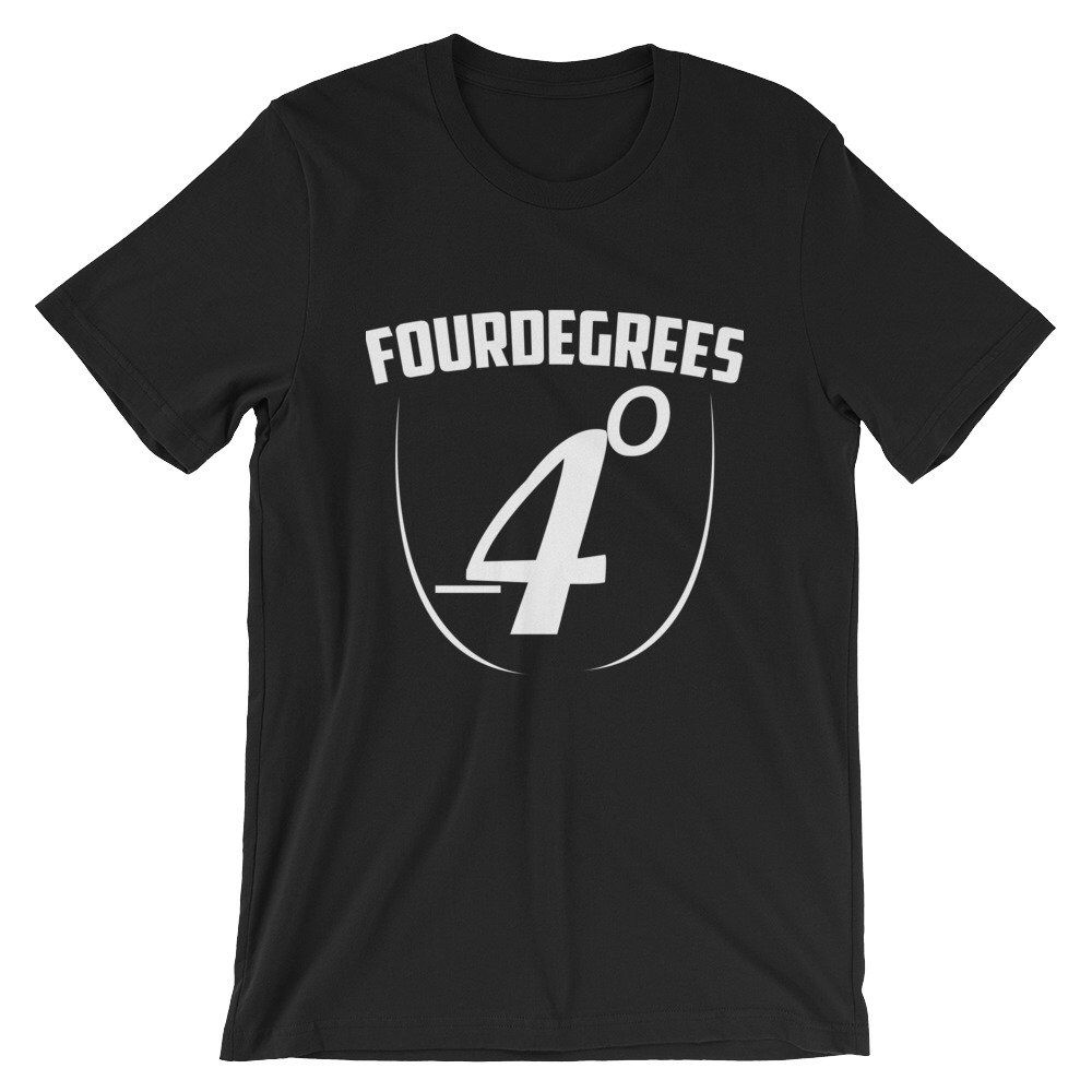 Excited to share the latest addition to my #etsy shop: FourDegrees Short-Sleeve Unisex T-Shirt
