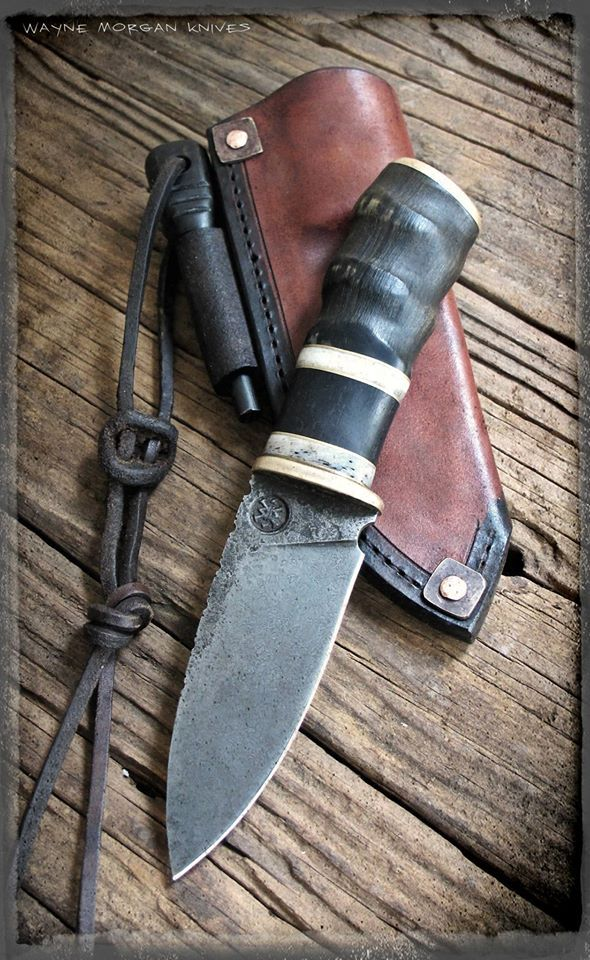 Wayne Morgan Knives ... latest pic, 3 Dec 2015