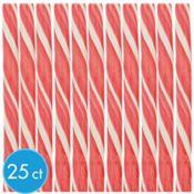 Light Pink Candy Sticks 25ct