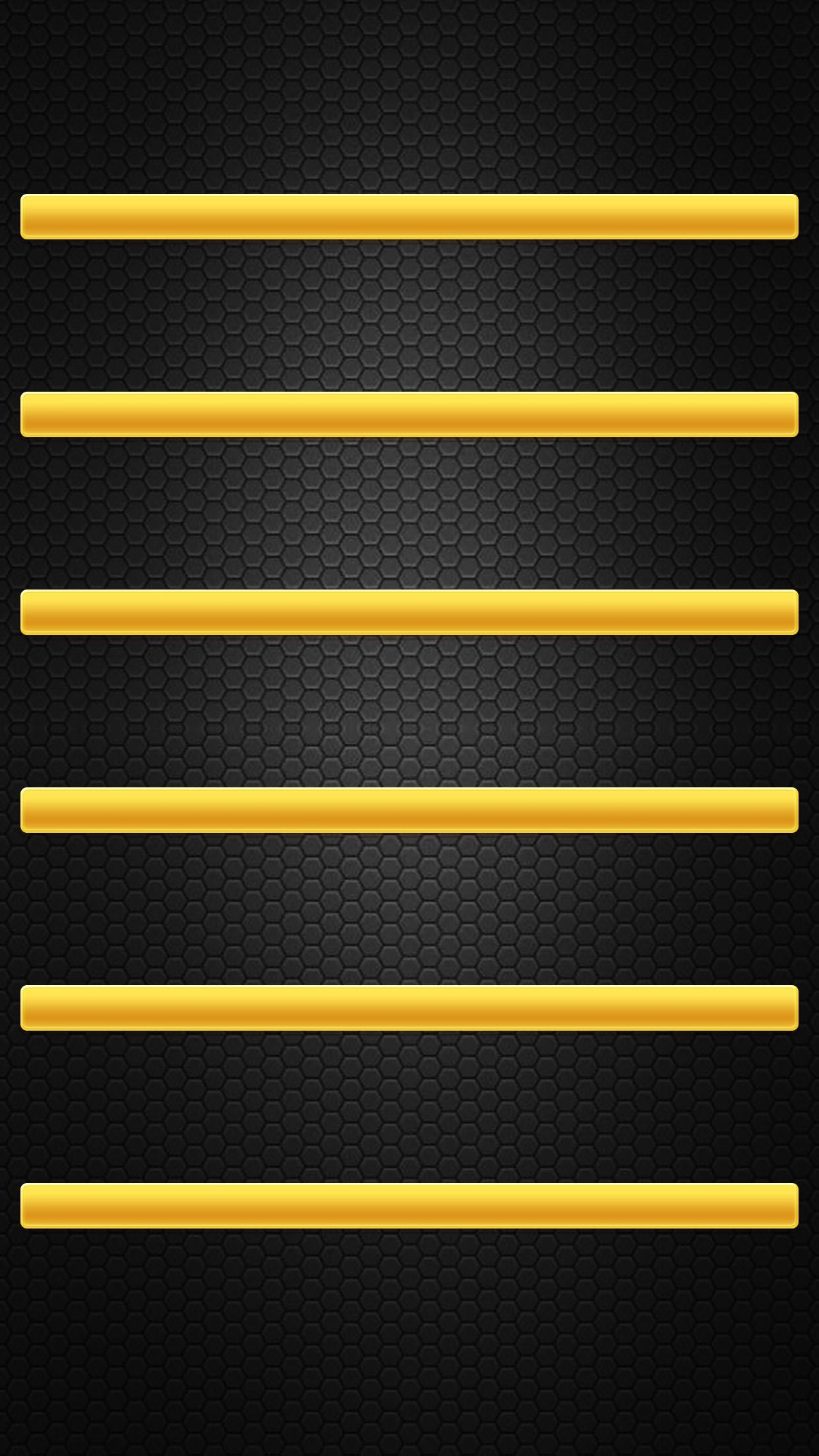 a†'a†'tap and get the free app shelves simple black yellow minimalistic hd iphone