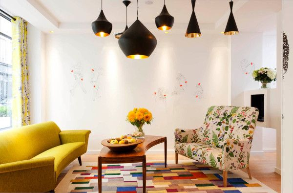 eclectic and colorful hotel crayon paris photo - Eclectic Hotel 2015