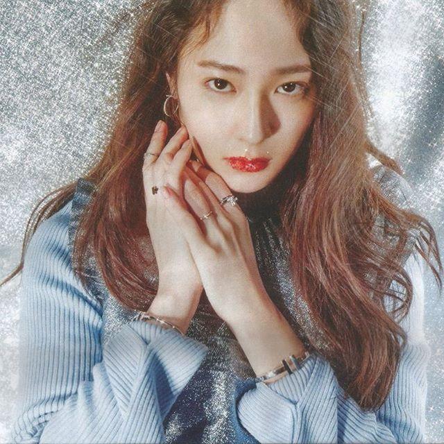 ; 161221 #Krystal - W Korea Magazine January 2017 issue ...