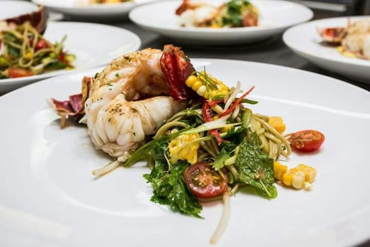 Minaret Station New Zealand Asian Crayfish Salad Yum Crayfish Salad Yum Food