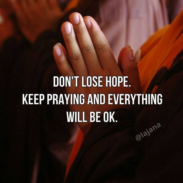 Good Night Dont Lose Hope Keep Praying And Everything Will Be Ok