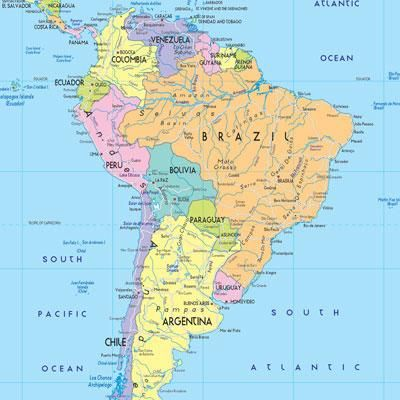 Can You Name The South American Countries Quiz Pinterest - Name countries quiz