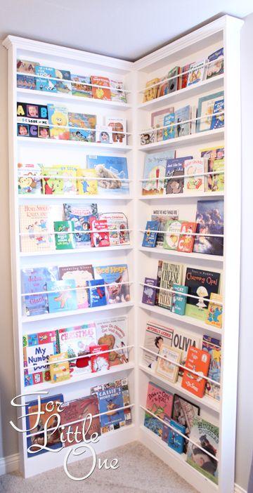 Build A Corner Bookshelf