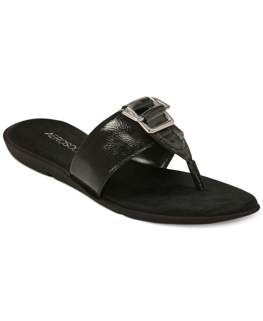 Aerosoles Savvy Flat Thong Sandals